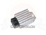 Реле регулятор (стабилизатор) 4 конт. (выпрямитель) малый (GY6-125-516)(GY6-125-04R)(ATVs-550)