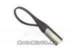Брелок для ключей в виде петли с карабином М004Н (2е поколение брелков), сталь+каучук