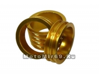 Кольцо проставочное NECO 1-1/8х15мм золотое, алюминий