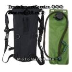 Поильник-рюкзак ВЕЛО/МОТО, камуфляжный (с емкостью для воды и длинным шлангом, можно пить на ходу)