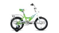 Велосипед 14 FORWARD ALTAIR CITY BOY (1ск, рама сталь,торм.ножной,багаж.,под.кол)