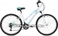 Велосипед 24 STINGER LAGUNA (9ск., рама алюм. 14, TZ500/TY21/TS-38-6) белый