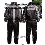 Дождевик мото TANKED TRC20 (штаны+куртка), в мешочке, материал 190T POLY TAFFETA, серый, размер XL