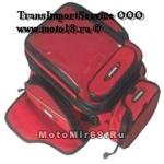 Сумка мото SCOYCO MB09 (есть магниты на бензобак), средний размер, красный, синий