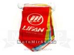 Растяжка с флагами LIFAN, для торговых залов
