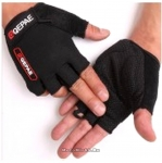 Перчатки QG-035 без пальцев, черные