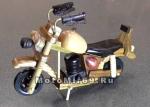 Модель мотоцикла хендмейд из дерева
