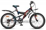 Велосипед 20'' STELS PILOT-260 (6ск,2х подвес, рама сталь 13,ам.вилка,торм V-br, алюм.обода)