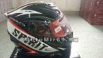 Шлем интеграл SHIRO SH-821 SPIRIT, размер L, (1уп =6 шт) (черно-красный)