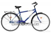 Велосипед 28 FORWARD ALTAIR CITY HIGH (дорожный,1ск,ал.обода, багажн., усилен. рама 19) МУЖСКОЙ