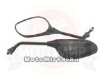 Зеркала (1034) d8 Honda черные