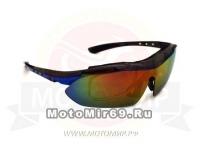 Очки солнцезащитные CIGNA XS-818, упаковка А (5 сменных линз, коробочка)