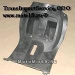Облицовка рулевой колонки задняяFT50QT-4A /Clever, Flaier, Tornado, Z50R, Force, UrbanRacer, LK50QT-