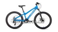 Велосипед 24 FORWARD TITAN 2.0 DISC (6ск, рама 13) красный, синий