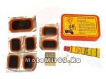 Набор для ремонта камер YP3204-NT(E)-C (пластиковый кейс, клей, 7 заплаток, шкурка)