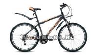 Велосипед 26 FORWARD APACHE 1.0 (21ск, рама 17,19,21 алюм.сплав,Hard tail) белый,черный матовый