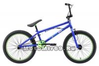 Велосипед 20 Stark'18 Madness BMX 2 (рама Cr-Moly 11, 1-комп. шатуны, клещевые тормоза, гиророт.)