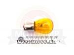 Лампа 12В 21Вт (P21) с цоколем (BA15s) в поворотник, стоп сигнал (2510) желтая