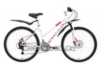 Велосипед 26 STARK Luna 1. D (алюм.рама 18, 3x7, Easing ES-225, Shimano Tourney TY300D, механика)