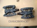 Педали Вело пластик 117х81мм (EPD-18)