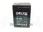 Аккумулятор герметичный 6В 6 А/ч, AGM (Delta DT 606) для электро машинок (70x47x101)