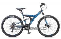 Велосипед 26 STELS FOCUS 21 SP MD (2х.подв.,21ск,рама сталь 18,ам.вилка,ал.обода,мех.диск.тормоз)