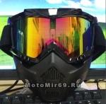 Очки мотокросс/спорт COBRA TP-655 с маской типа Дарт Вейдер