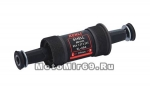 Каретка-картридж KENLI MTB BC 1.37х24T L/R 68/116mm, стальные чашки, стальной корпус, 2 промподшип