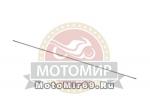 Вал штанги мотокосы GBC-052 (7 шлицов)