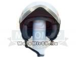 Шлем открытый Safelead LX-221 колобки с доп. стеклом мат. черный размер XL