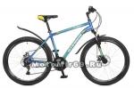 Велосипед 26 STINGER ELEMENT D (18ск,рама ал.16, 18, 20l,торм.диск.мех. TZ30/TY21/TS38) синий
