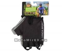Перчатки вело, цвет черный, размер M