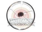 Обод 17 передний литой Nitro 1,4-17 №22 стандарт Nitro сереб диск. торм. 5 отв. (6и луч)(5 луч)