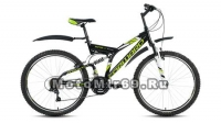 Велосипед 26 FORWARD RAPTOR 1.0 (21ск, рама 18 сталь, торм.V-Brake Promax)