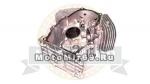 Картер голый 2V78F (11100) (блок цилиндров) 78,0 мм
