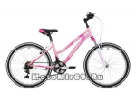 Велосипед 24 STINGER LATINA (21ск,рама 14алюм.спл., TZ30/TY21/TS-38) розовый