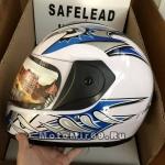 Шлем интеграл Safelead HF-150 NEW белый (BG), бургунди (DT), черный (Q30), размер L
