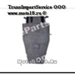 Клапан впускной/выпускной YBR125 (d=22/26) (l= 63.5/64.3)