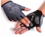 Перчатки QG-048 без пальцев, серые