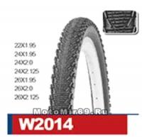 Велопокрышка WANDA, 24х2,0 модель W2014