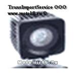 Фара светодиодная доп. света JT-1310B квадратная 1 диод 10Вт, 67 мм, рассеивающий, 830LM, 9-32В