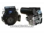Двигатель LIFAN 27 л.c. с катушкой освещения 12В20А240Вт 2V78F-2A (4Т), РУЧ+ЭЛ СТАРТ (БУРАН)