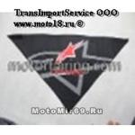 Платок мото/скутер ГРАФИКА (треугольный, сзади на липучке, защита дыхания, ЗВЕЗДА/AlpineSt SA0001