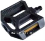Педали Вело пластик 107х103мм, черный HUALONG (FP-850)
