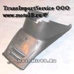 Облицовка отсека двигателя Скутер BOOster. LB50QT-35 (QT-10) / FT50QT-10