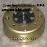Маховик генератора FT150T, 152QMI,157QMJ (0803) (6/8/11 катушек)