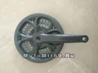 Шатуны 24/34/42Tх170мм, сталь, цвет черный (ETCW-18)