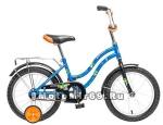 Велосипед 16'' NOVATRACK TETRIS (1ск, тормоз нож., крылья цвет, баг. хром) 124268 розовый