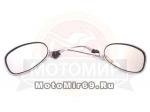 Зеркала (001) d8 хром Каплевидные объемные