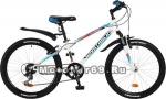 Велосипед 24'' NOVATRACK EXTREME (6ск,МТВ,рама ст.10,TY21/RS35/TZ21, V-brake) 117109 белый